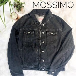 MOSSIMO Black Denim Jacket